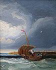 Attributed to Alfred Stannard (British, 1806-1889)