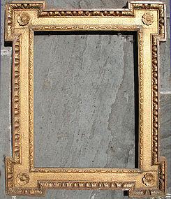 English Gilt Wood Mirror