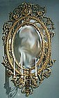 Fine Antique English Girandole Mirror