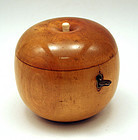 Rare 18th-century Apple Shaped Tea Caddy