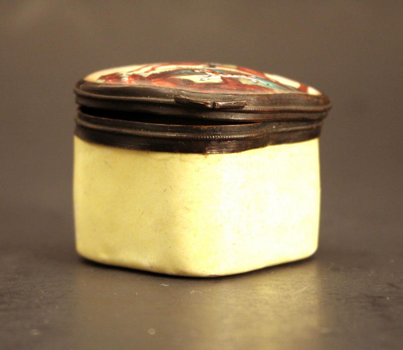 19th-century French Enamel Box