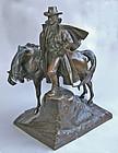Ulysses S. Grant, a Bronze by Henry Hudson Kitson