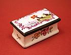French 19th-century Enamel Box