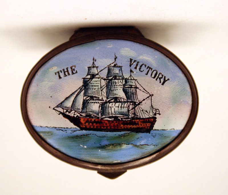 "Bilston ""HMS Victory"" Patchbox"