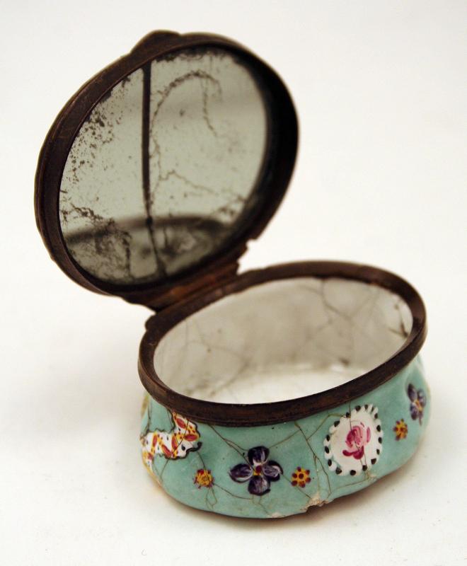 """English 18th-century Enamel Box, """"A Reward for Merit"""""""