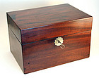 English Mahogany Tea Chest
