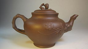 Vintage Chinese Yi Xing Teapot Signed