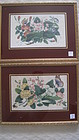 Two Of Beautiful 19th C. Chinese Watercolor Painting