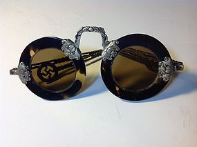 Qing Dynasty Chinese Chystal Lens Sunglasses