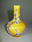19th C. Chinese Small Sancai Pottery Vase
