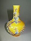 19th C. Chinese Small Sancai Pottery Vase