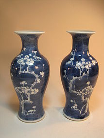 Beautiful 19th/20th C. Chinese Blue and White Vases