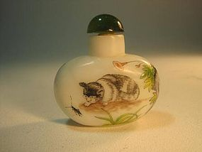 A 19th/20th C. Chinese Peking Glass Snuff bottle