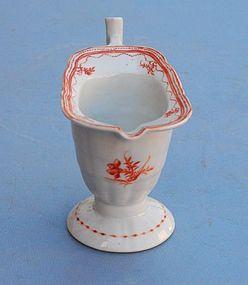 Chinese Export Porcelain Helmet Cream Jug, late 18thC