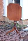 Federal Mahogany Tilt-top Candlestand, Circa 1820