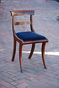 Rare Federal Side Chair, probably NY, Ca. 1815