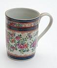 Samson Porcelain Mug, late 19th C.