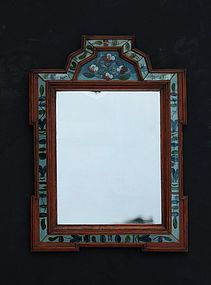 Continenetal Courting Mirror, mid-18th C.