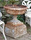 American Cast Iron Garden Urn, circa 1890