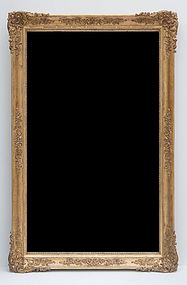 French Giltwood Mirror, Circa 1835-45