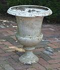 Cast Iron Garden Urn, early 20th C.