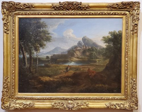 17th Century Roman Landscape Attributed to Gaspard Dughet