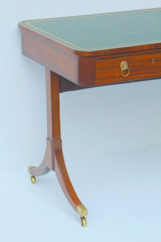 Regency Mahogany Writing Table early 19th C.