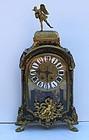 Louis XV-Style Bronze Mounted Bouille Clock, 19thC