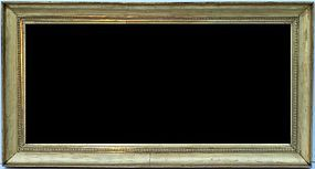 French Empire Scoop Frame Mirror, circa 1810