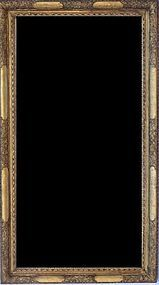 UK/European Gold Leaf Frame Mirror, 18th C.