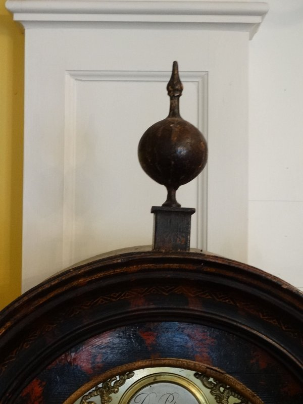 George III Chinoiserie Tall Case Clock, circa 1780