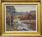 Landcsape Oil Painting by Otis Cook