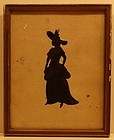 American Full-Length Silhouette, dated 1818