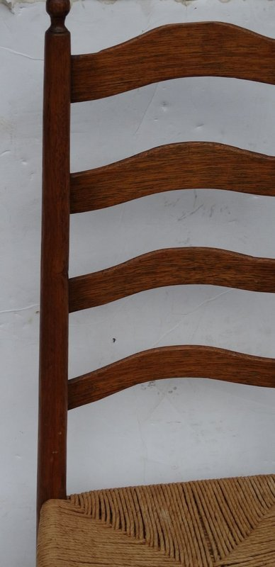 American Slat Back Side Chair, late 18th C.