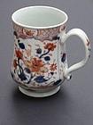 Chinese Export Porcelain Imari Tankard ca. 1760