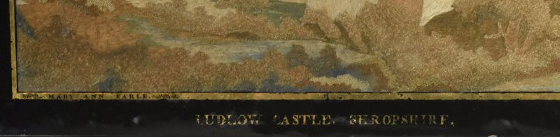 English School Silk Embroidery, circa 1825