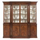 Georgian Mahogany Breakfront Bookcase, circa 1820-35