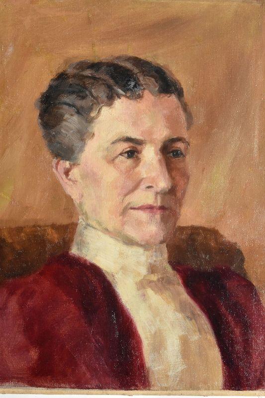 John Winthrop Andrews , American (1879-1964) Pair Portraits
