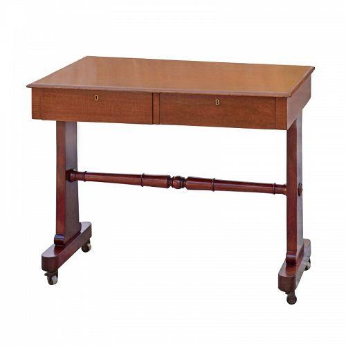 William IV, Mahogany Library Table, Circa 1830