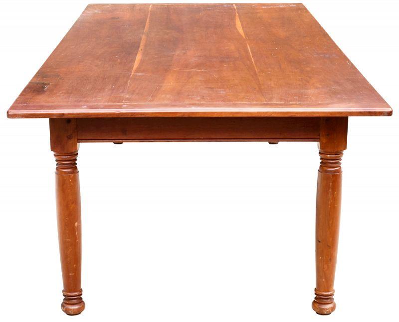 Cherrywood Custom Farm Table,  Modern