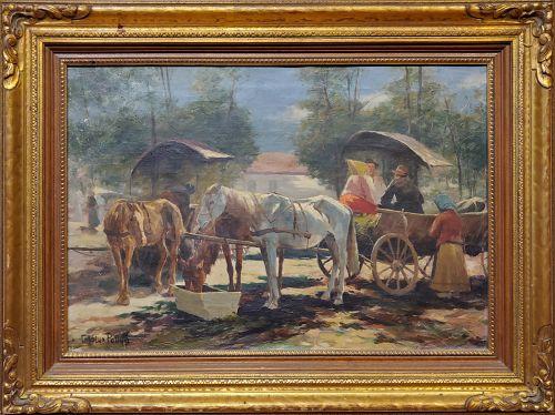 Carolus Pallya, Hungarian 1875-1930