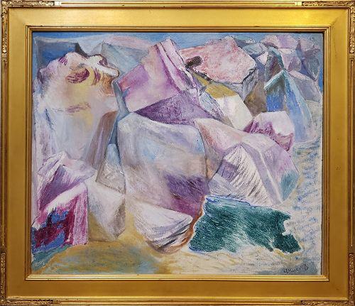Abraham Mark Datz, Russian American 1889-1969
