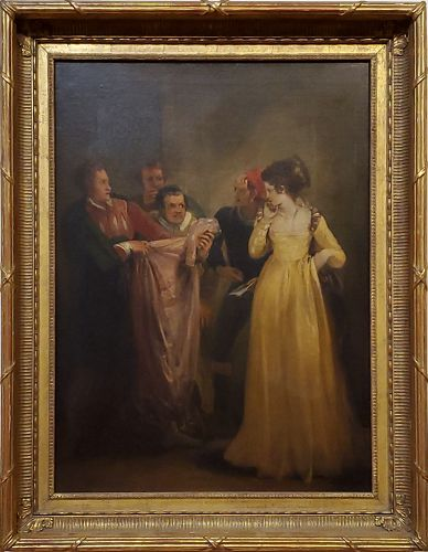 Katherine and The Tailor (From Taming Of The Shrew by Shakespeare)