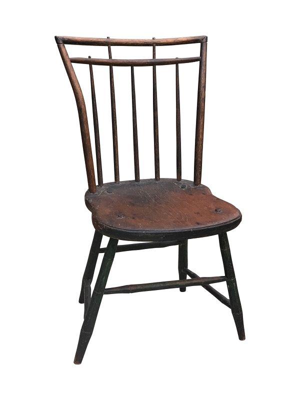 American Rod Back Windsor Side Chair, PA, circa 1825