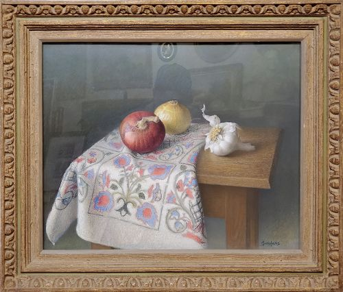 Still Life Pastel Painting by Werner Groshans