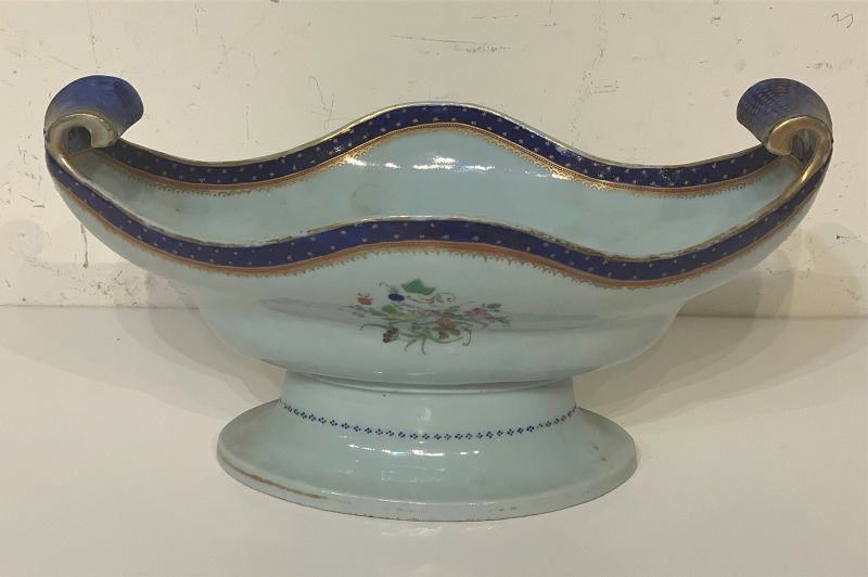 Chinese Export Porcelain Compote , late 19th C