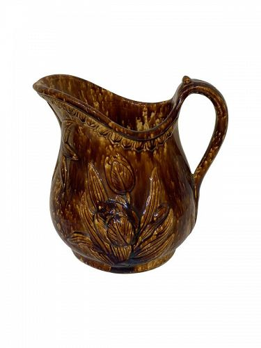 Rockingham Glaze Jug, England second quarter 19th C.