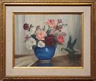 Still Life Oil Painting By Corinne Jackson circa 1935