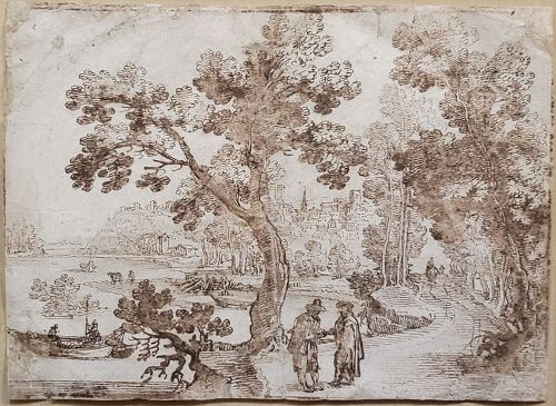 Remigio Cantagallina, Italian 1582-1630 Drawing