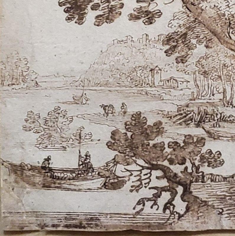 Remigio Cantagallina, Italian 1582-1630 Drawing